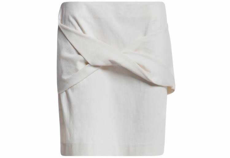 Fotografía de falda al aire para eCommerce